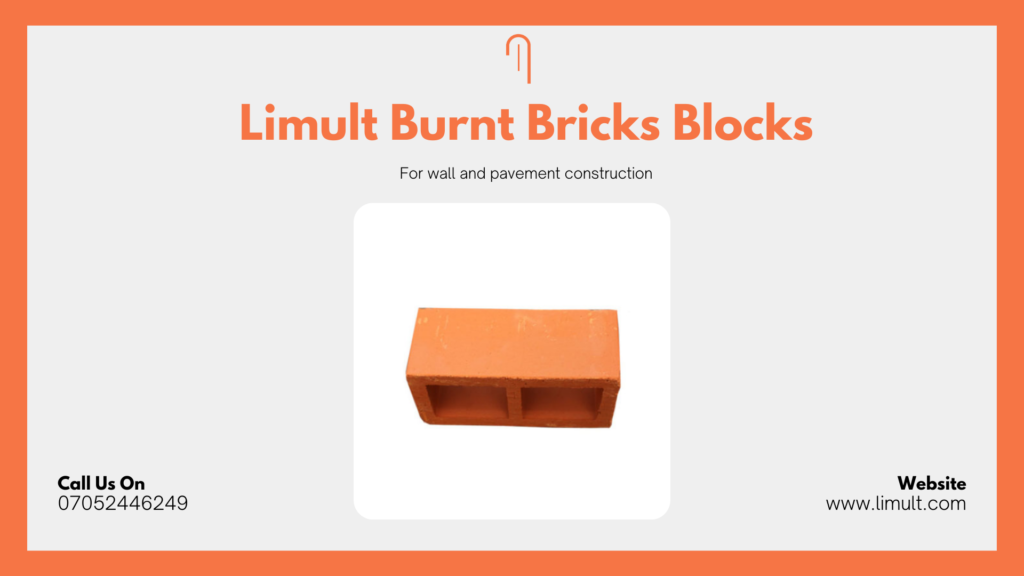 Limult Burnt Bricks Block