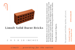 Limult Solid Burnt Bricks