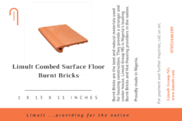 Limult Combed Surface Floor Burnt Bricks